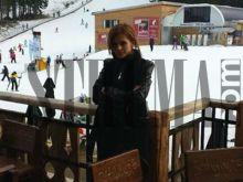 Преслава на курорт с Бирмата