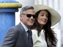 Джордж Клуни замяза на чичка
