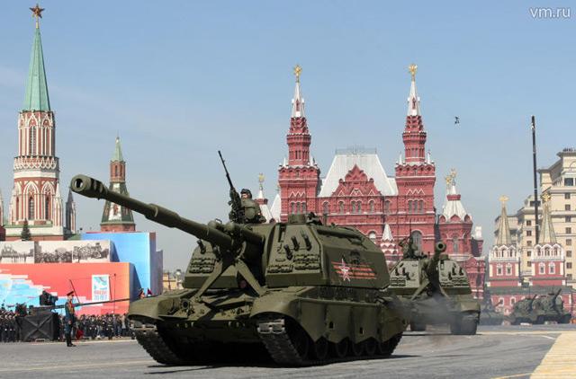 40 000 военни ще участват в Парада на Победата на 9 май