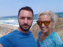 Антон Хекимян на море и с гадже