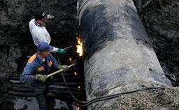 Двама българи обгорени след авария на газопровод